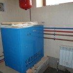 Установка котла отопления